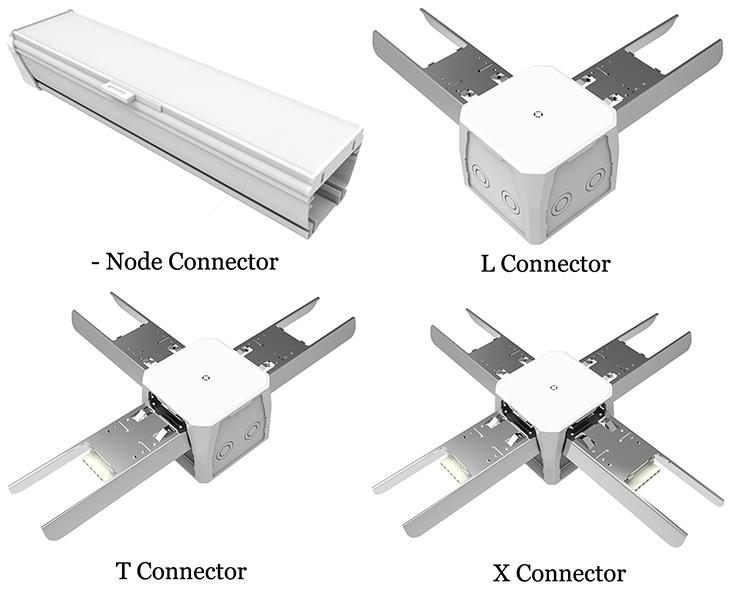 LED Linear Light Connectors
