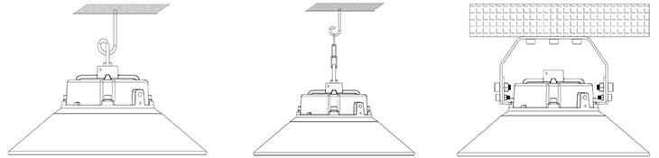 Installation of Venus LED UFO High Bay Light