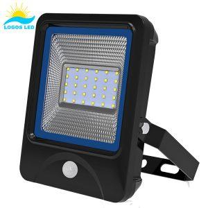 Luna 30W LED Flood Light front with motion sensor