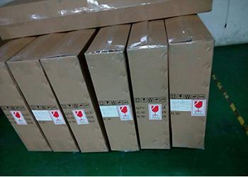 Packaging of LED panel light