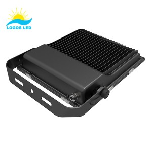100w led flood light back 1
