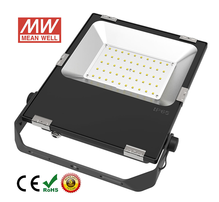 50w led flood light front