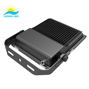 80w led flood light back 1