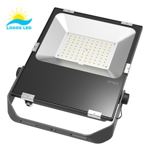 80w led flood light front 1