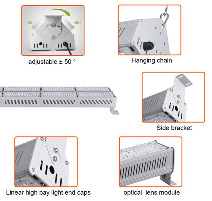 linear led high bay light detail 5