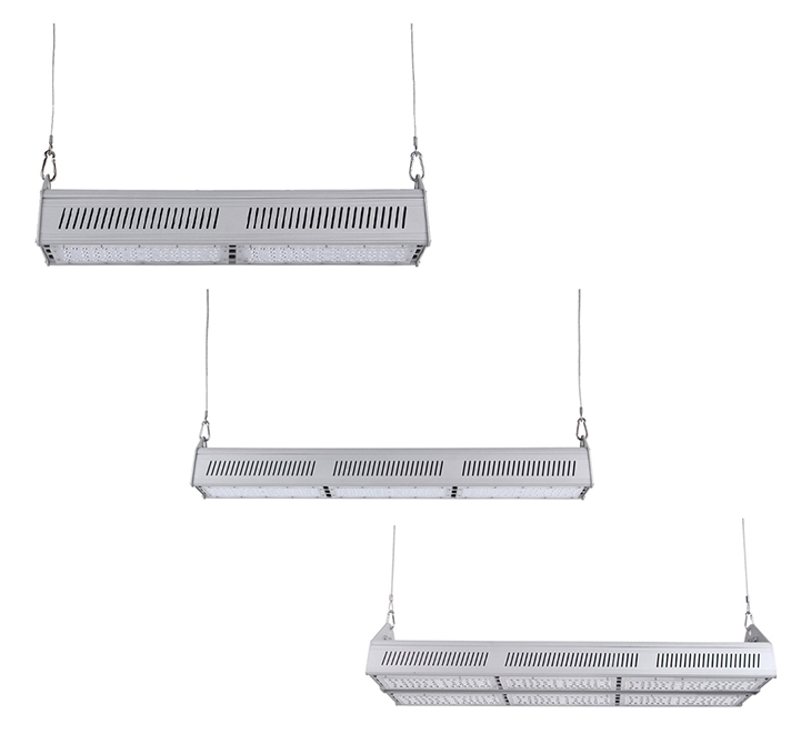 Different watts linear led high bay light